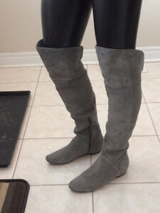 SOFT MICROSUEDE Over the knee Boots Size 9.5