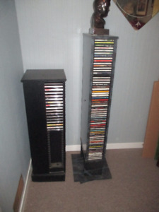 CD's - DVD's and storage units
