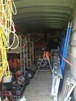 Carpentry tools and trailer package deal