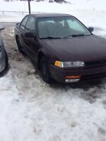 93 accord for parts