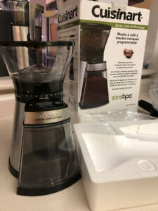 NEW Cuisinart CBM-18C Conical Burr Coffee Grinder ($100 Retail)