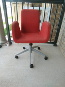 RED Computer Chair.  Very sturdy