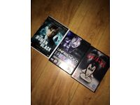 3 horror DVDs great condition
