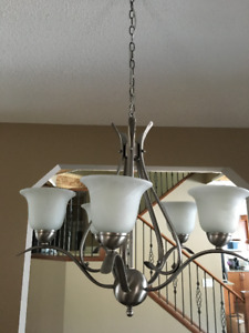 Chandelier kijiji in calgary buy sell save with canadas 5 globe chandelier aloadofball Images