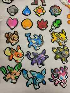 Pokemon and other video game related pixel art sprites
