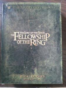 Seigneur des anneaux 1 (version longue) 4 DVD
