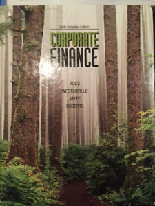 Corporate Finance - Ross, Westerfield, Jaffe, Roberts