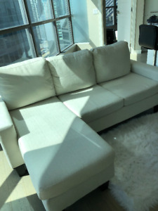 URGENT CHEAP couch for sale- used for 7 months, bought brand new