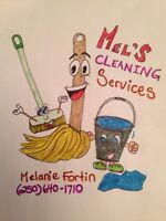 Mel's house cleaning services