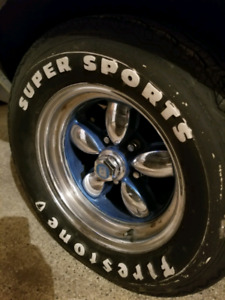 Mag Wheels 14 Inch Rims with Tires!!