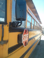 School Bus For Sale. Conversion
