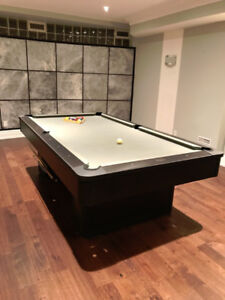 OLHAUSEN Pool Table 30th anniversary edition modern design
