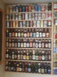 BEER CANS AND BOTTLES