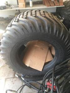 Pair of Nokia 600/50-22.5 Forestry tires , Bran New Never used