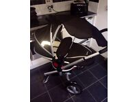 SliverCross Pram and Car Seat