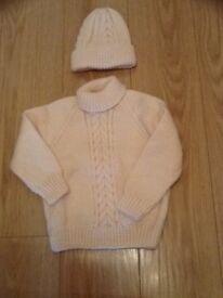Knitted Jumper Set