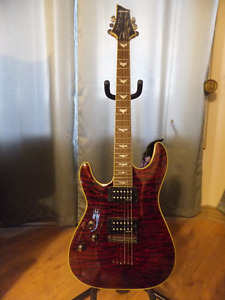 Left-Handed Schecter Omen Extreme-6 BCH Electric Guitar
