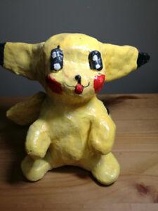 Handmade Pikachu Décor