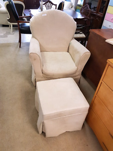 Rocking chair with footstool @HFHGTA Restore Etobicoke C-006