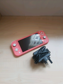 Nintendo Switch Lite Handheld Console 32GB Coral Excellent Condition