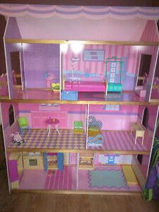 Big Barbie house