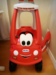 Little Tikes Cozy Coup Fire Patrol 911