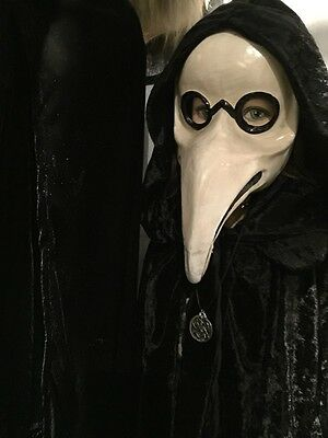 Macabre Plague Doctor Mask Pagan Masquerade Carnival Halloween Antique style - Pagan Halloween Mask