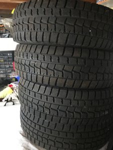 Like New: Dunlop Winter Maxx 205/70R15