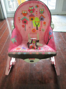 FISHER PRICE BABY  SLEEPING  CHAIR FOR SALE .