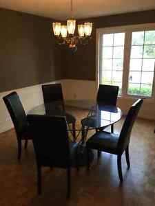 Elegant Glass Dining Room Table London Ontario image 2