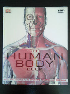 THE HUMAN BODY BOOK. Includes DVD. Public by DK.