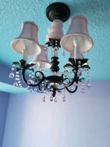 Beautifully kids chandelier(for girls room)