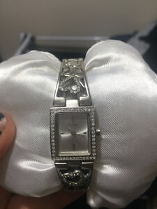 Sterling Silver Guess Watch