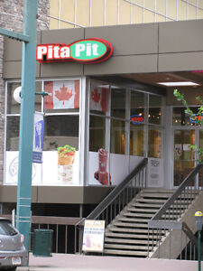 Downtown Pita Pit location on Jasper Ave for sale!