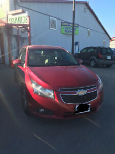 2012 Chevrolet Cruze LTZ Turbo w/1SA Sedan