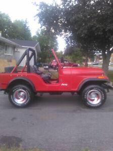 1979 CJ5 Jeep