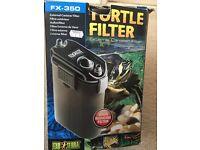 Turtle filter / external filter