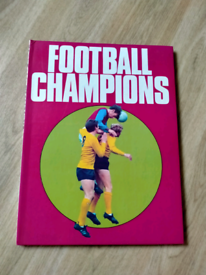 Football Champions Book by Purnell 1969 - 1970 Season. Good Condition