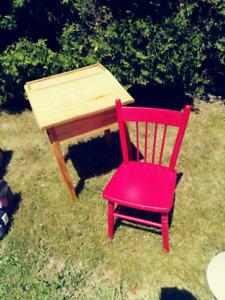 Pupitre et/ou chaise antique