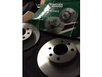 Unused brand new citreon c4 brake discs