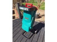 Bosch garden shredder £40