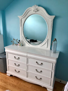 Dresser and Mirror for sale