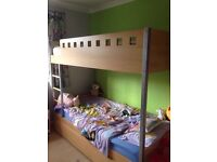 Kids bunk bed need gone by Tuesday