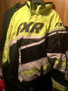 FXR COLD CROSS JACKET, PANTS and GLOVES