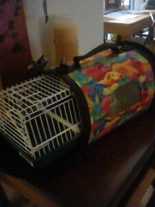 Colourful small animal/ bird carrier