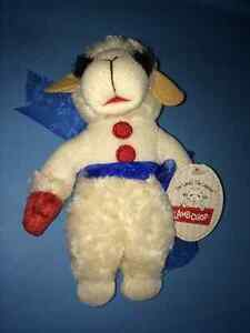 "Lamb Chop Shari Lewis Plush Doll 8"" High ~ NEW with TAGS!!"