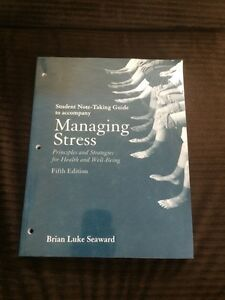 Student Guide to Managing Stress