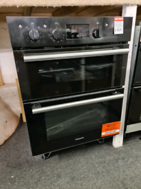 Brand New HOTPOINT Class 2 DU2 540 BL Electric Built-under Double Oven