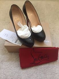 Christian Louboutin heels 140mm size uk 3.5 genuine with receipt