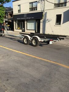 EZ Loader Galvanized Tandem Boat Trailer